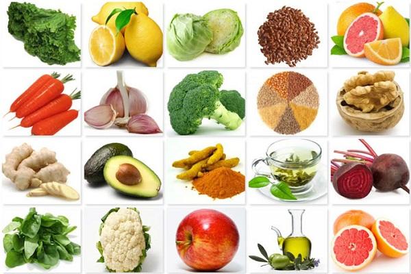 Полезные для иммунитета продукты питания