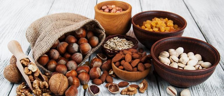 Полезные для иммунитета орехи