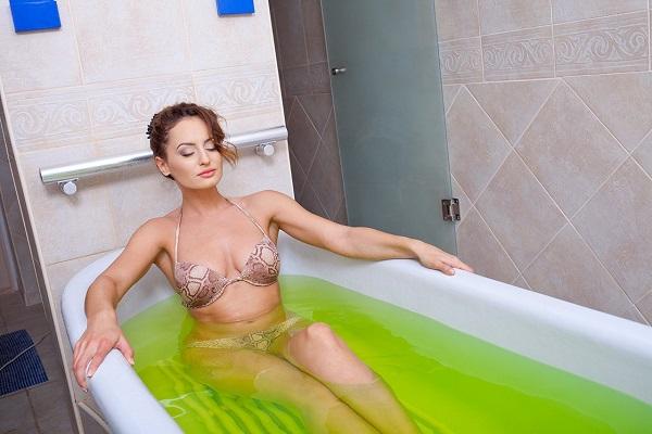 Ванна со скипидаром