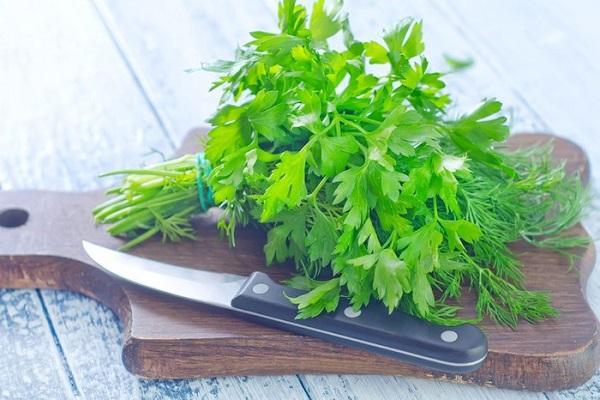Зелень на досточке для лечения простатита
