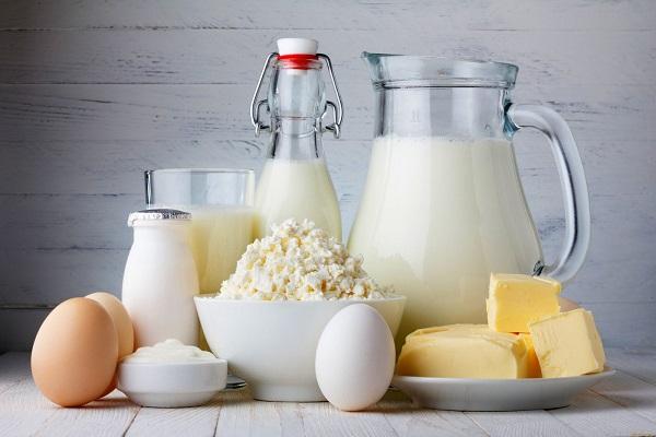 Разные молочные продукты