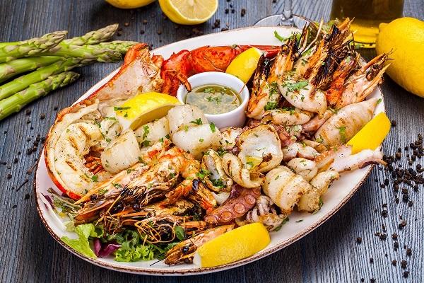 Готовые морепродукты