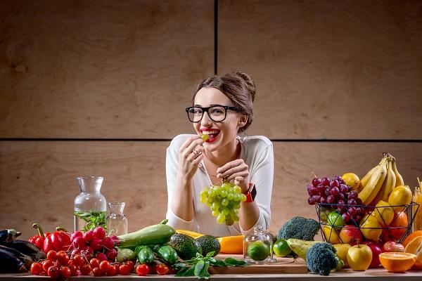 Девушка и ее правильное питание