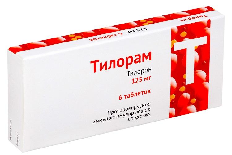 Противовирусный препарат Тилорам